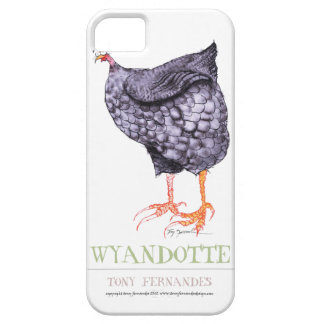 WYANDOTTE HEN, tony fernandes iPhone 5 Covers