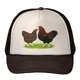 Wyandotte:  Partridge Pair Trucker Hat