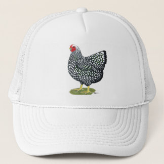 Wyandotte:  Silver-laced Hen Trucker Hat