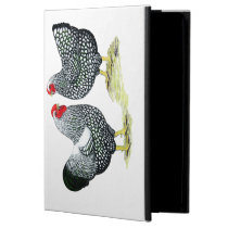 Wyandottes Silver-laced Pair Cover For iPad Air