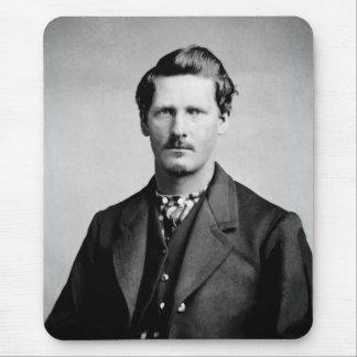 Wyatt Earp American Lawmen Old West Portrait Mouse Pad