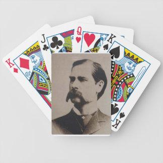 wyatt earp bicycle playing cards
