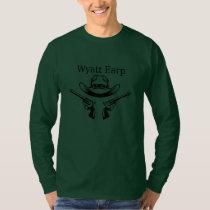 Wyatt Earp Cowboy Lawman Country Western  T-Shirt