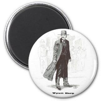 Wyatt Earp Imán Redondo 5 Cm