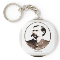 Wyatt Earp Old West Keychain