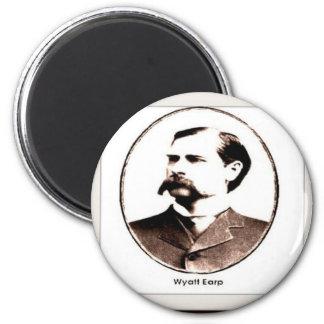Wyatt Earp Old West Magnet