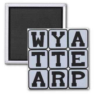 Wyatt Earp Wild West Lawman Magnet