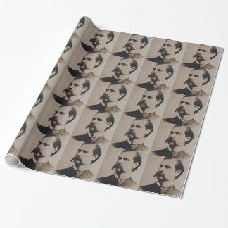 wyatt earp wrapping paper