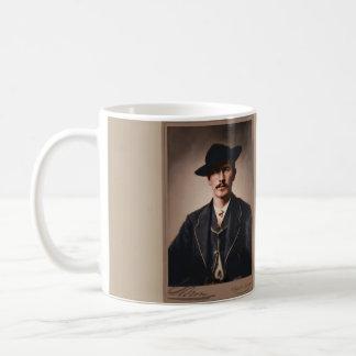 Wyatt Earp, Young and Old Coffee Mug