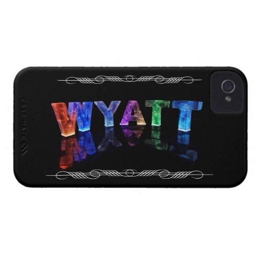 Wyatt - el Wyatt conocido en 3D se enciende (la iPhone 4 Funda