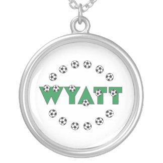 Wyatt in Soccer Green Custom Jewelry