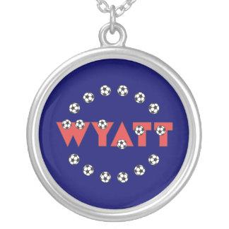 Wyatt in Soccer Red Jewelry