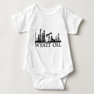 Wyatt Oil (Black Logo) Baby Bodysuit