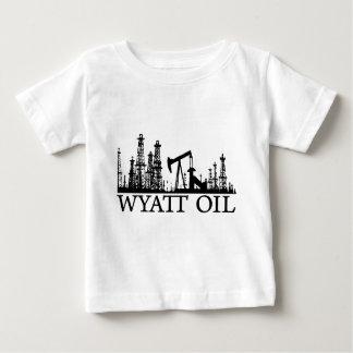 Wyatt Oil (Black Logo) Baby T-Shirt