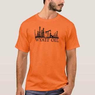 Wyatt Oil / Black Logo T-Shirt