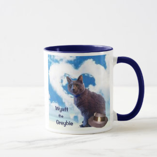 "Wyatt the Greybie ""Dreams Do Come True""  Mug"
