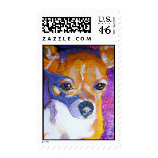 Wyatt's Chanel Postage Stamps