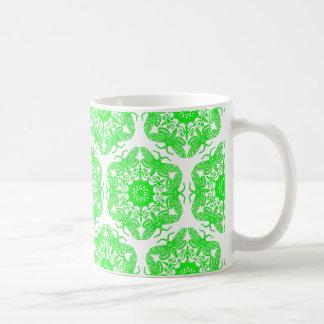 Wycinanka Moth Pattern Coffee Mug