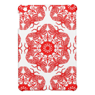 Wycinanka Moth Pattern iPad Mini Covers