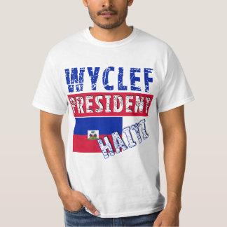 WYCLEF President Haiti Tshirts, Mugs, Buttons Tee Shirt