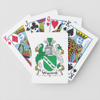Wycomb Family Crest Poker Cards