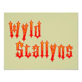 Wyld Stallyns 4.25x5.5 Paper Invitation Card