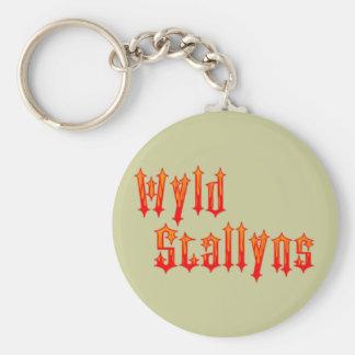 Wyld Stallyns Basic Round Button Keychain