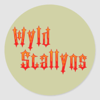 Wyld Stallyns Classic Round Sticker