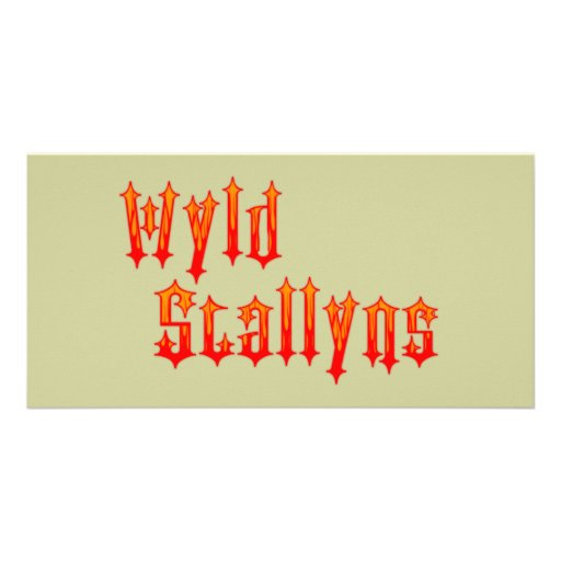 Wyld Stallyns Custom Photo Card