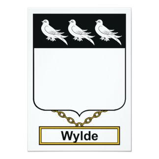 Wylde Family Crest Card