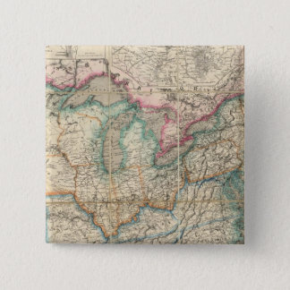 Wyld's Military Map Of The United States Button