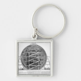 Wyld's Model of the Earth, 1851 Keychain