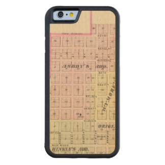 Wymore and Filley, Nebraska Carved Maple iPhone 6 Bumper Case