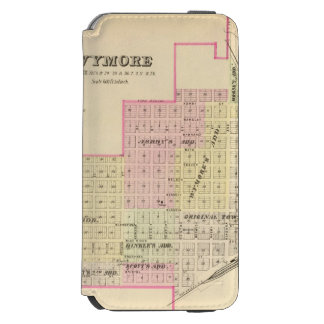 Wymore and Filley, Nebraska iPhone 6/6s Wallet Case