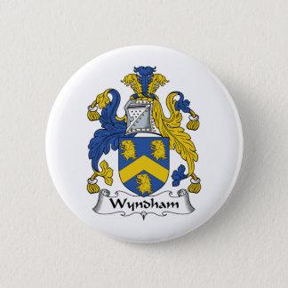 Wyndham Family Crest Pinback Button