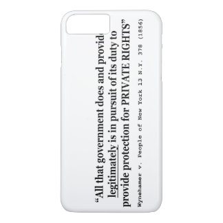 Wynehamer v the People of New York 13 NY 378 1856 iPhone 7 Plus Case