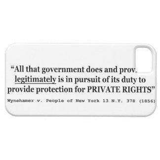 Wynehamer v the People of New York 13 NY 378 1856 iPhone SE/5/5s Case