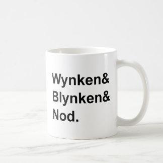 Wynken Blynken & Nod | Wooden Shoe Bedtime Story Coffee Mug