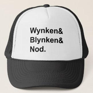 Wynken Blynken & Nod   Wooden Shoe Bedtime Story Trucker Hat
