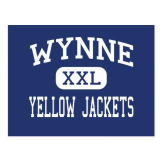 Wynne - Yellow Jackets - High - Wynne Arkansas Postcard