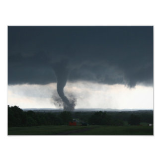 Wynnewood, OK EF4 Tornado Photo Print