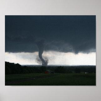 Wynnewood, poster ACEPTABLE del tornado EF4 Póster