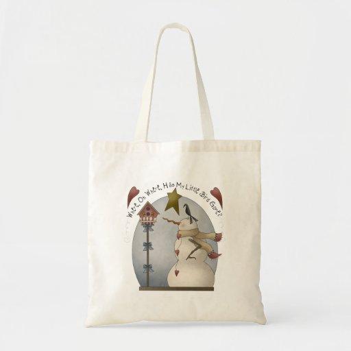 Wynter Wunderz · Little Bird Budget Tote Bag