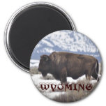 Wyoming 2 Inch Round Magnet
