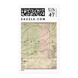 Wyoming 2 postage