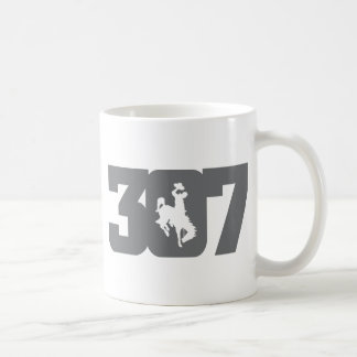 Wyoming 307 Bronc Coffee Mug
