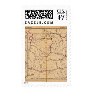 Wyoming 4 stamp