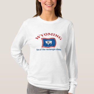 Wyoming - A Rectangle State T-Shirt