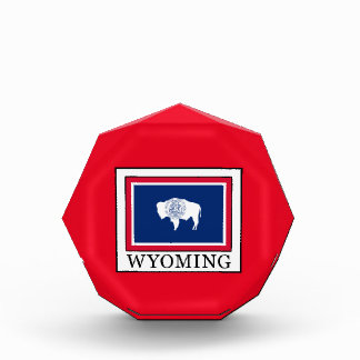 Wyoming Acrylic Award