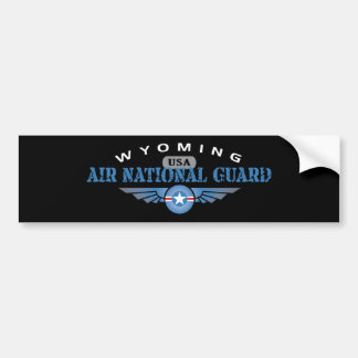 Wyoming Air National Guard Bumper Sticker